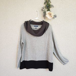 ♦ Karen Scott Cowl Neck Sweater ♦